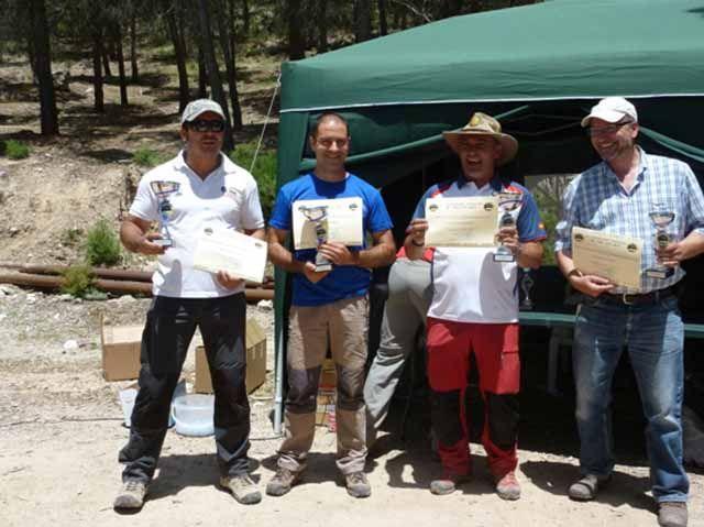 Julián Alguacil, segundo en el Campeonato de Andalucía de Tiro con Arco de Bosque