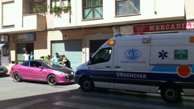 Accidente en cruce Alfonso X y Paseo de los Marqueses de Linares