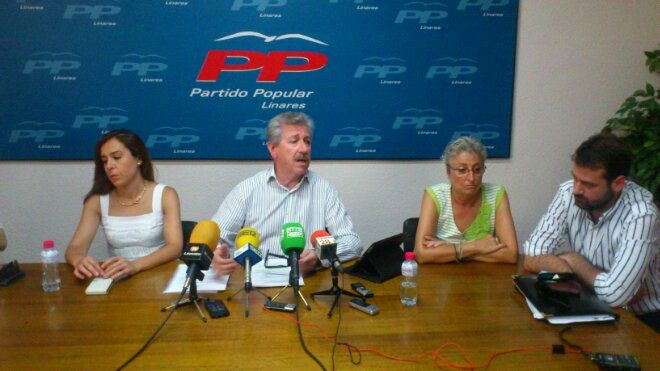 En estos momentos, rueda de prensa del PP