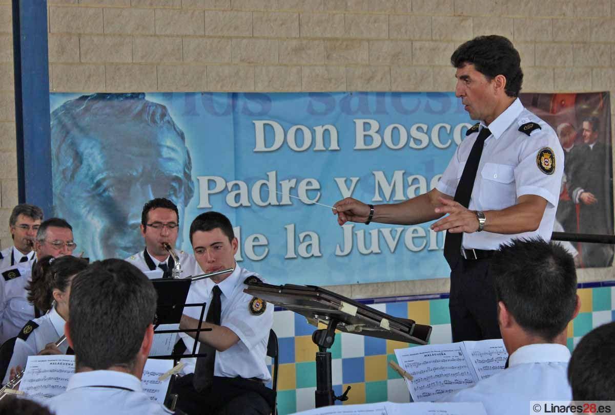 """La Banda Sinfónica """"Ciudad de Linares"""" interpreta el tercer concierto de Feria"""