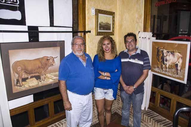 Xóchitl Espinoza inaugura su segunda muestra simultánea en Linares