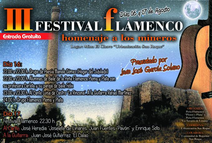"""Hoy comienza el III Festival Flamenco """"Homenaje a los mineros"""""""