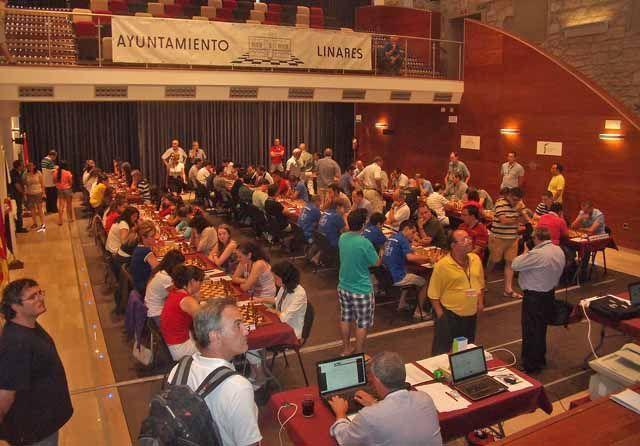 Comienza el Campeonato de España de Ajedrez en Linares