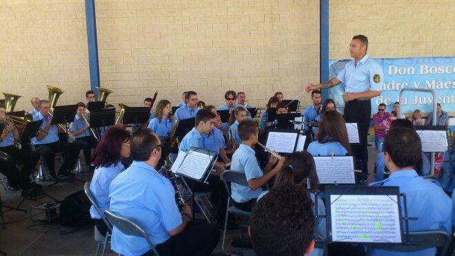 Comienza los conciertos de música de banda de la Feria de Linares 2.013