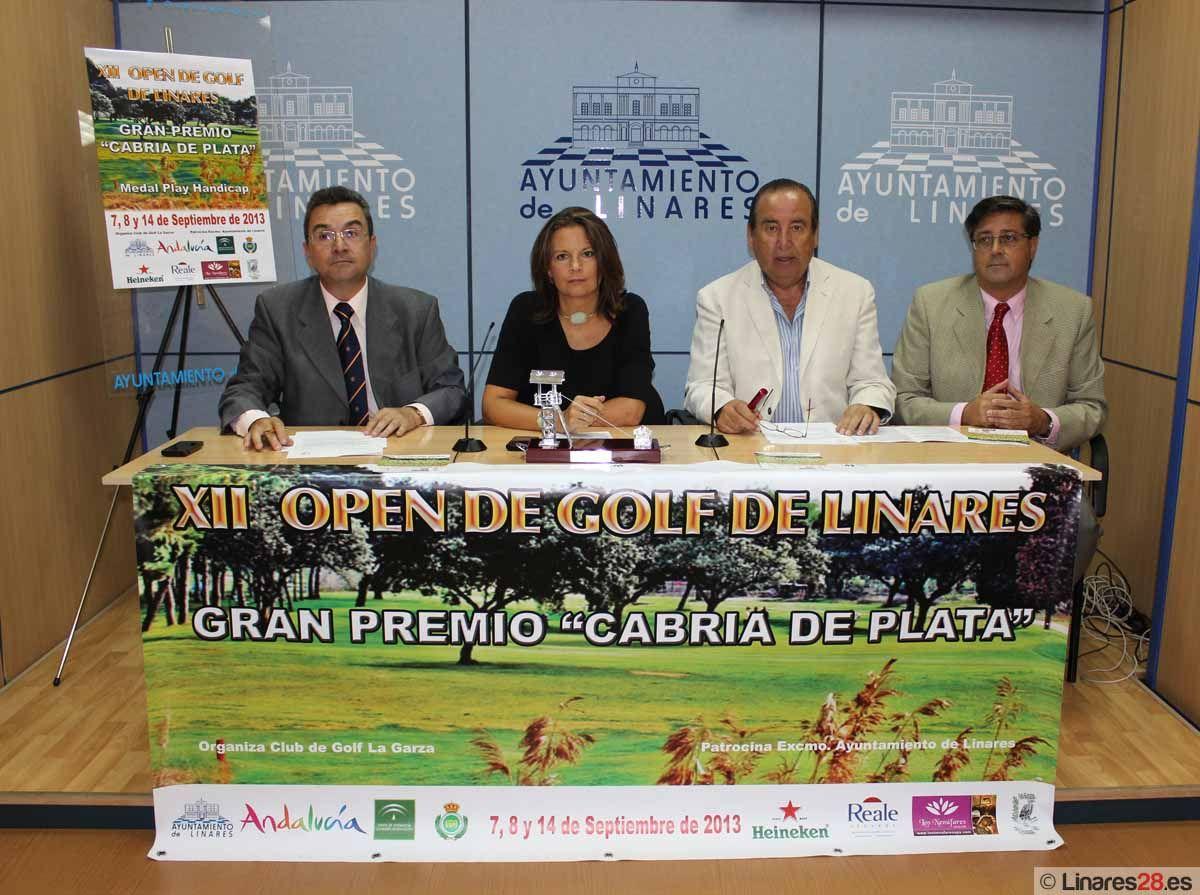 Comienza el XII Open de Golf Ciudad de Linares