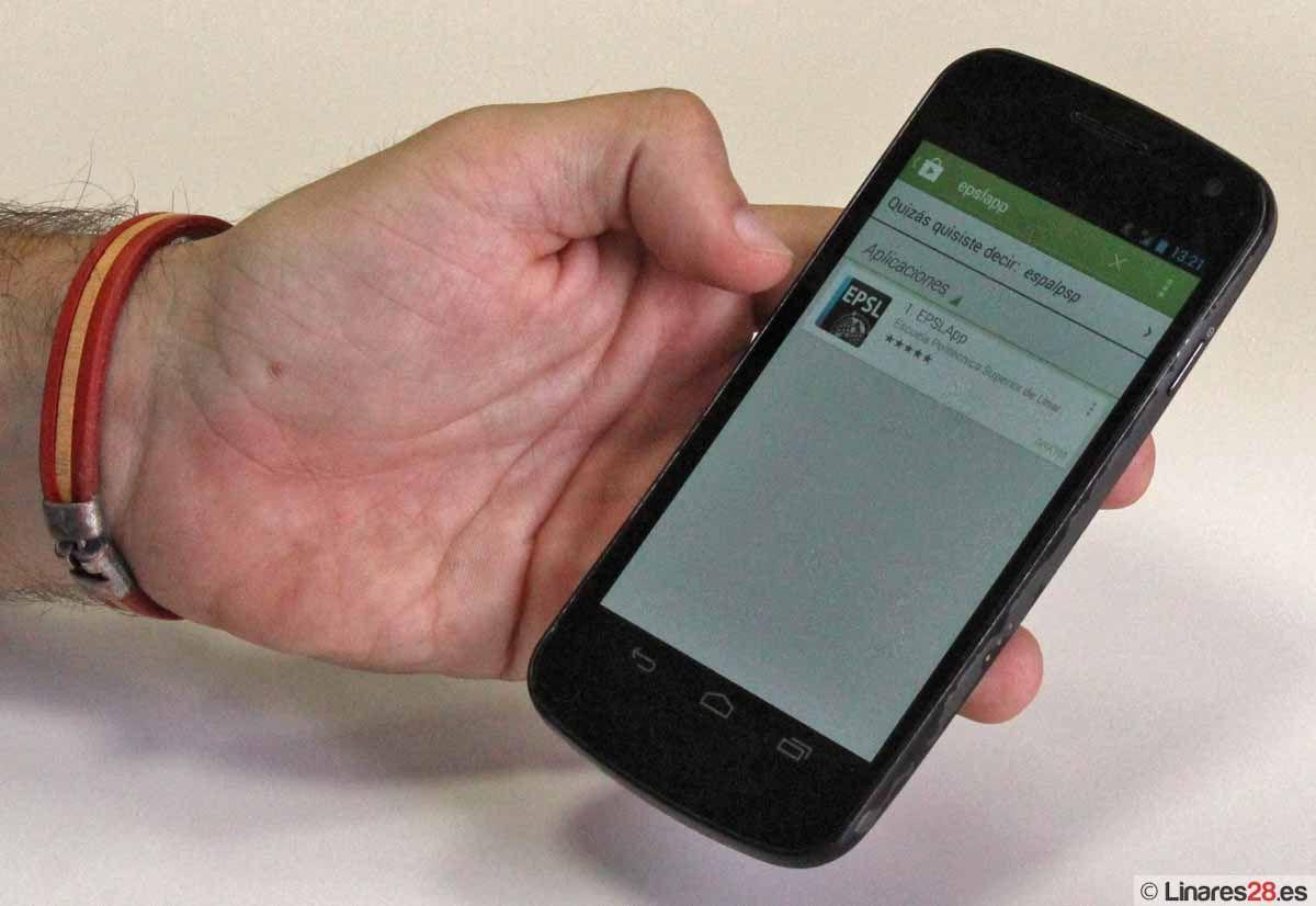 La EPS de Linares lanza una aplicación para dispositivos móviles