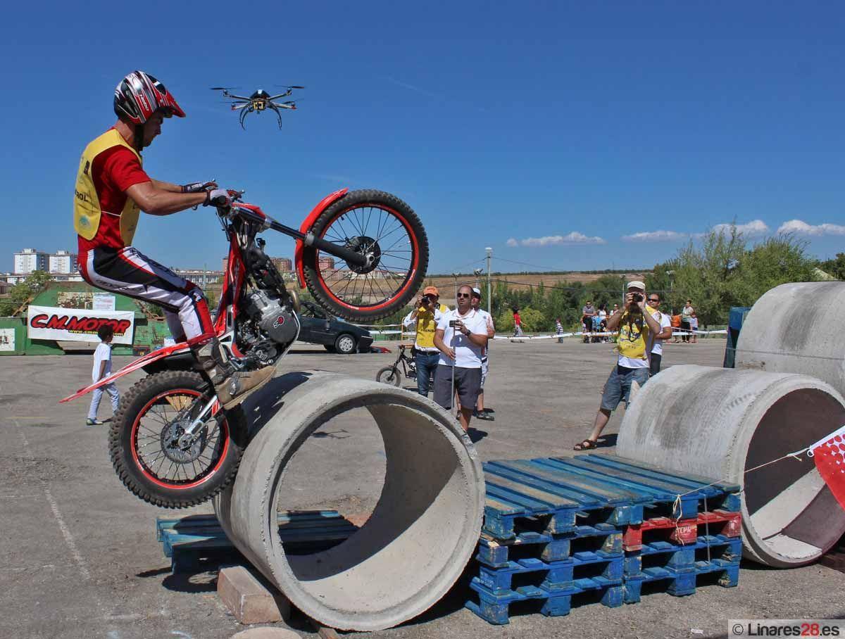 El trial completa un fin de semana de motor en Linares