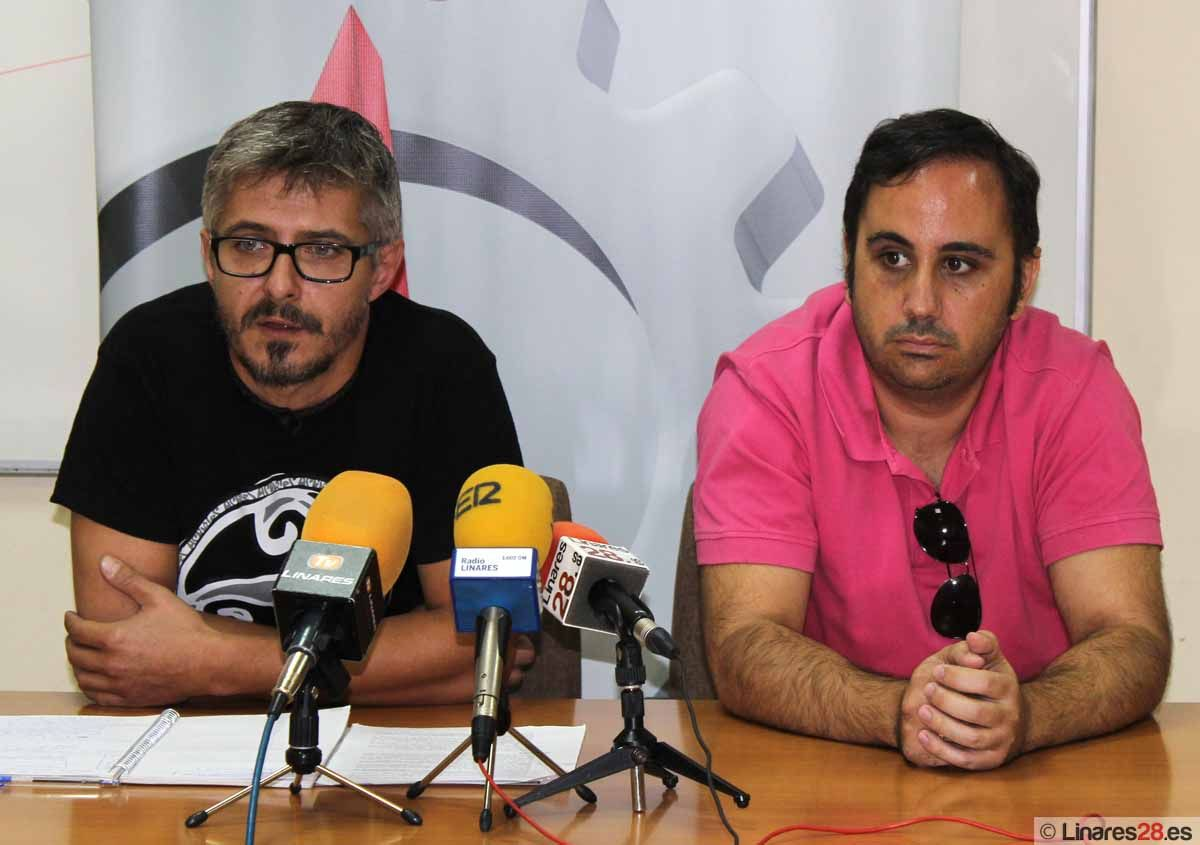 CCOO esperanzado en posibles avances del Plan Linares Futuro con el cambio de Consejero