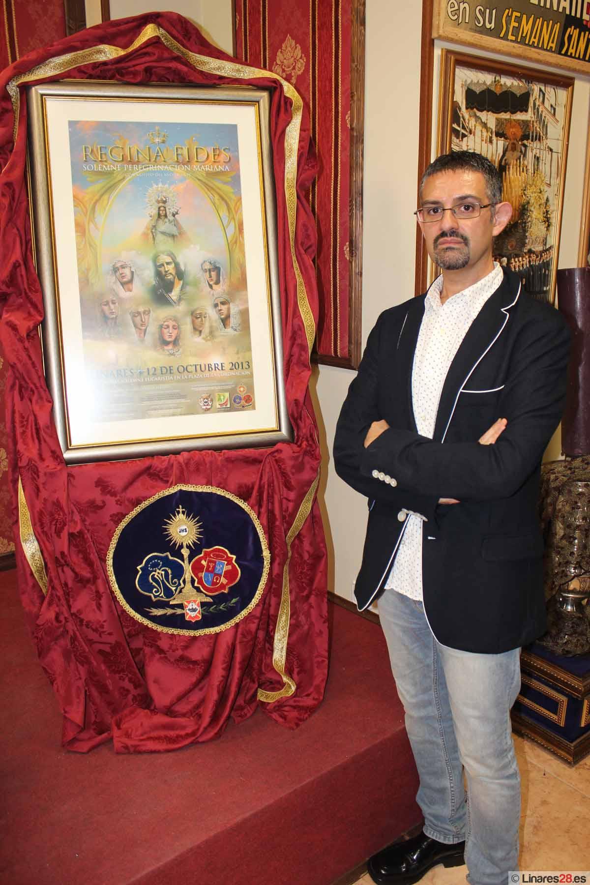 """Presentan el cartel oficial """"Regina Fides"""""""