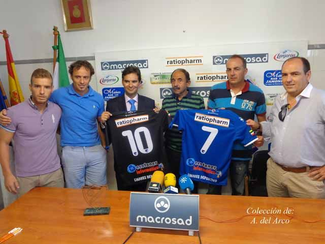 Un nuevo patrocinador para el Linares Deportivo