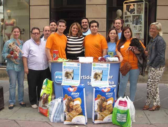 Nuevas Generaciones agradece el apoyo recibido de los linarenses en el Día Mundial de los Animales