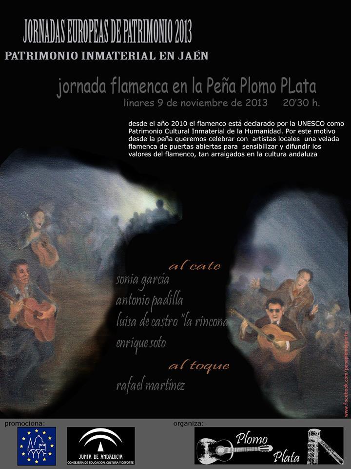 Jornada flamenca en la Peña Plomo y Plata