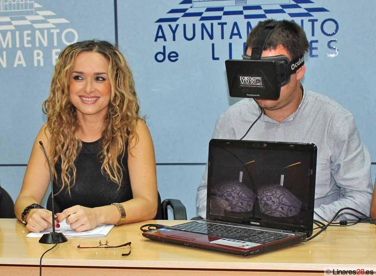 Cástulo protagonista en el stand de Linares en Tierra Adentro