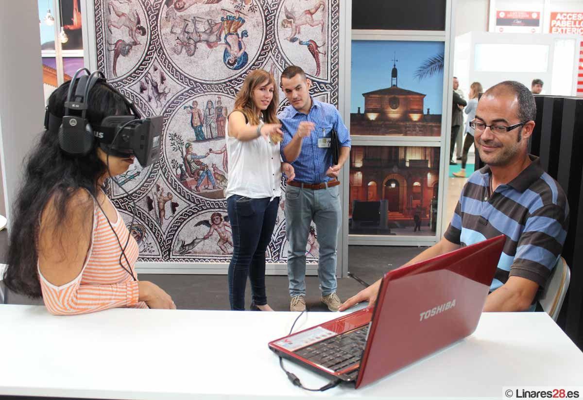 Linares muestra sus encantos en Tierra Adentro empleando las últimas tecnologías de realidad virtual