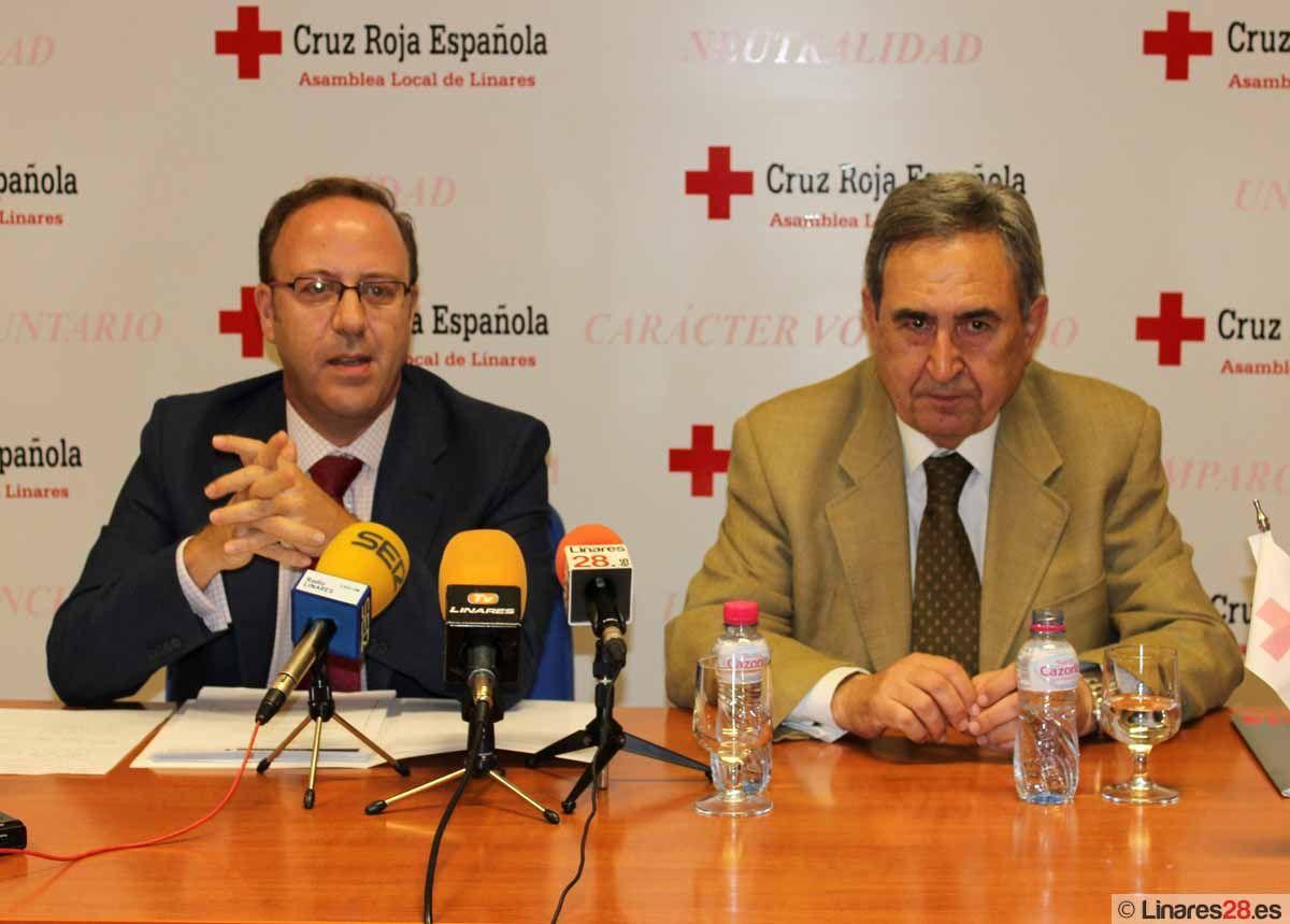 José Alberto Utrera deja la presidencia de Cruz Roja Linares