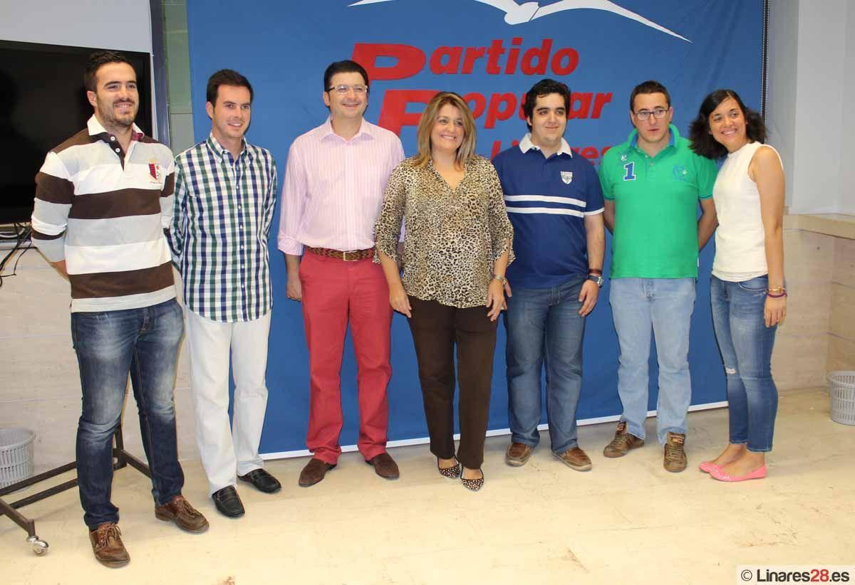 Nuevas Generaciones reivindican desde Linares