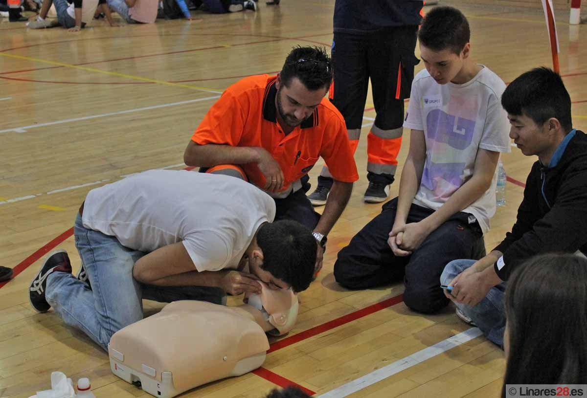Preparan a cerca de 850 jóvenes en el primer Día Europeo de la Actuación ante la Parada Cardíaca