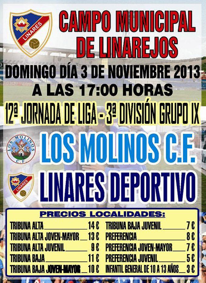 El Linares Deportivo se enfrenta a Los Molinos C.F.