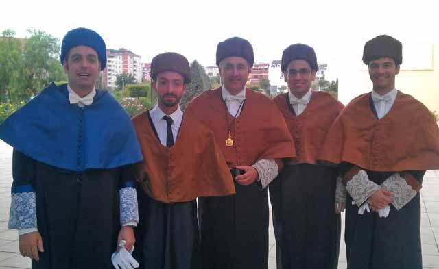Nuevos doctores en la EPS de Linares