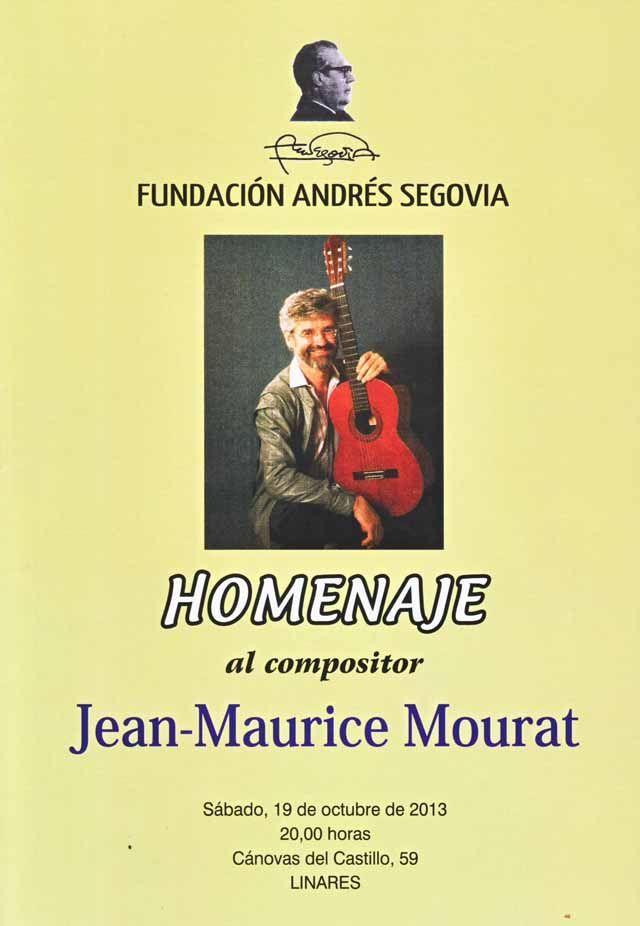 Hoy se celebra un concierto homenaje a Jean-Maurice Mourat