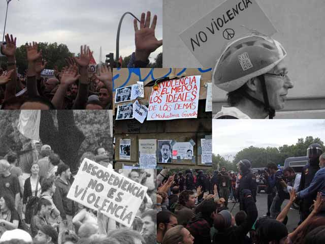 Noviolencia, 15M y desobediencia civil