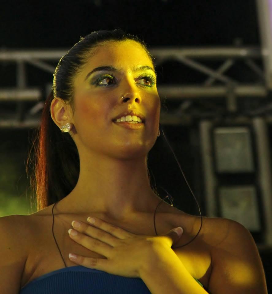 La cantante linarense Sara Esther Rivilla en TVE