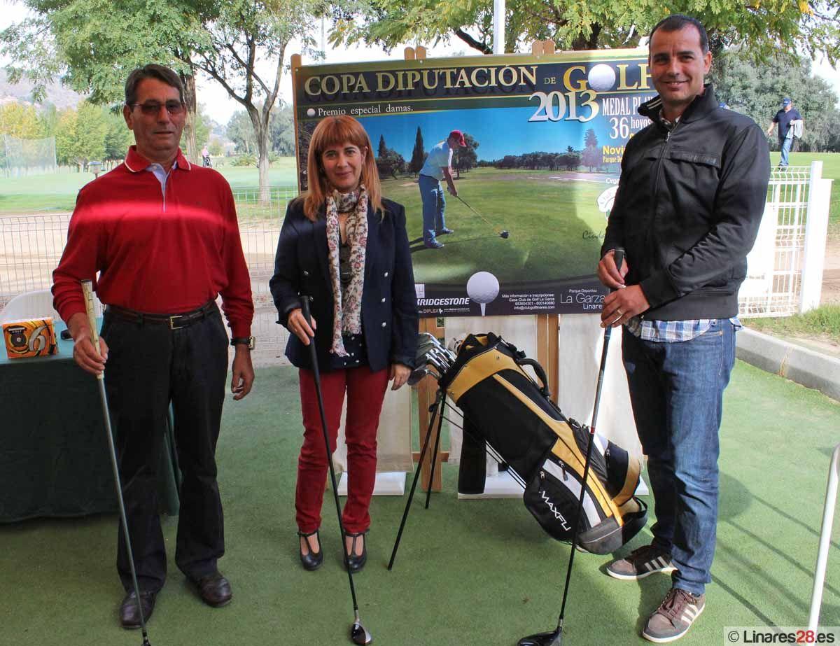 """Mañana comienza en """"La Garza"""" la Copa Diputación de Golf 2013"""