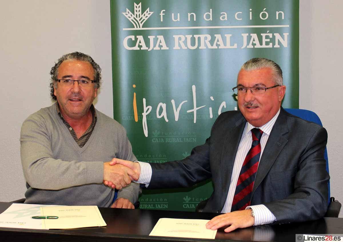 El Club Deportivo Disminusport firma un convenio con la Fundación Caja Rural de Jaén