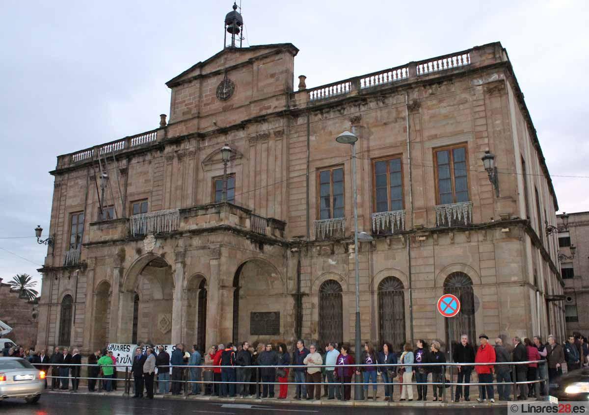 Un abrazo al Palacio Municipal