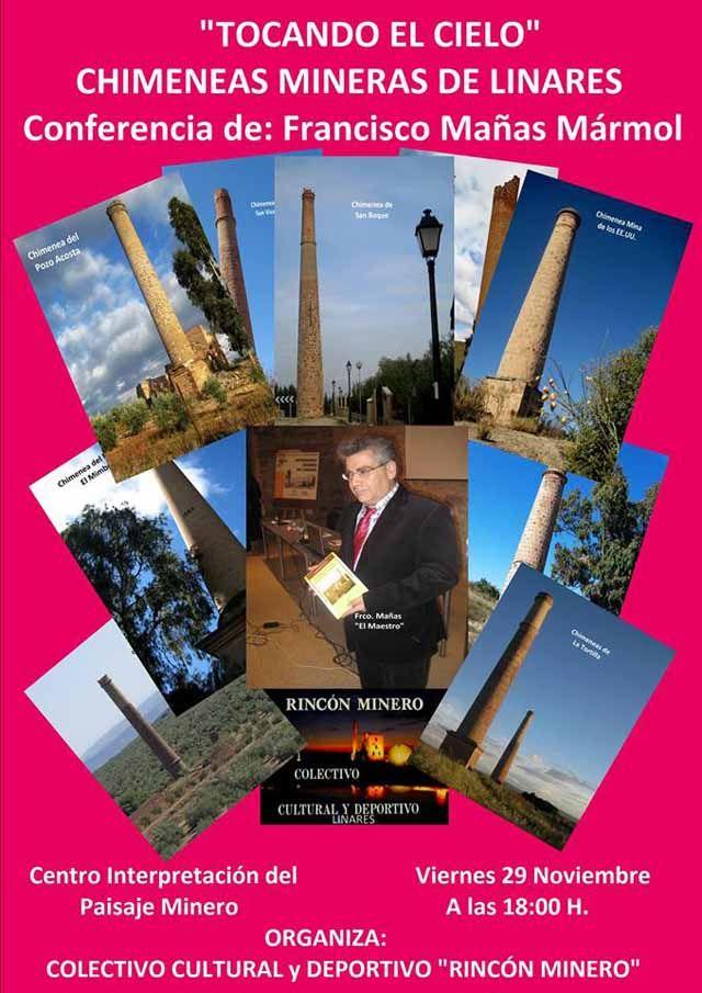 Conferencia sobre las chimeneas mineras de Linares