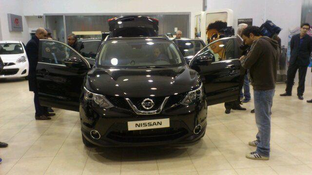 En estos momentos, presentación del nuevo Nissan QashQai