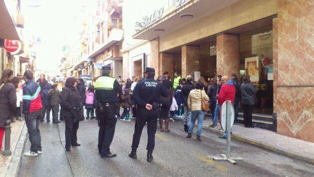 En estos momentos, simulacro de evacuación en el Teatro Cervantes