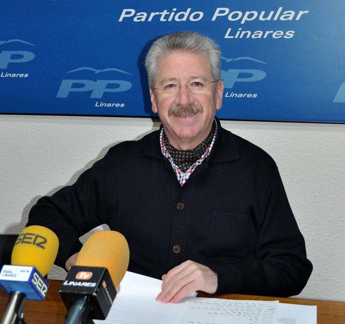 """PP: """"Los linarenses debemos celebrar que el 2013 llegue a su fin"""""""