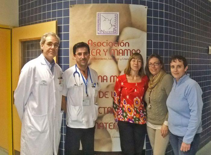 El Hospital de Linares cuenta con una exposición para difundir e informar sobre los beneficios de la lactancia materna