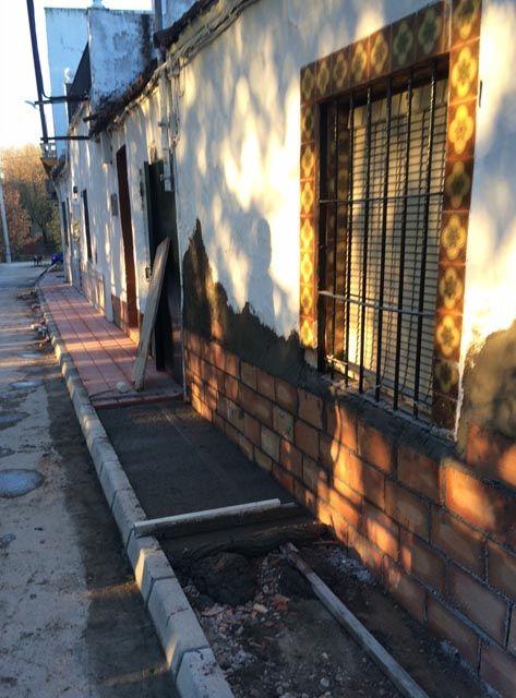 Comienzan las obras en la calle Arroyo Alto en la Estación Linares-Baeza