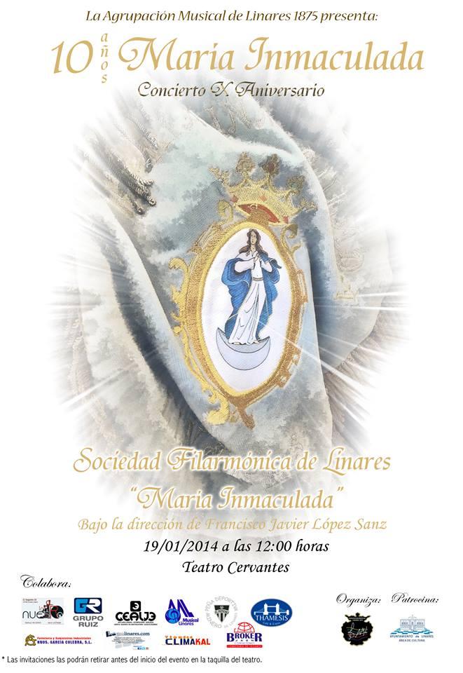 Concierto aniversario María Inmaculada