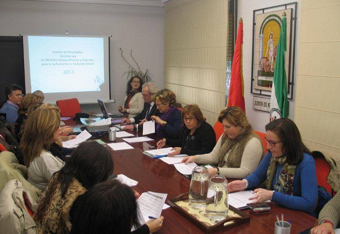 La Junta atiende en Jaén a cerca de 10.000 personas  gracias al Decreto Ley de Medidas contra la Exclusión Social