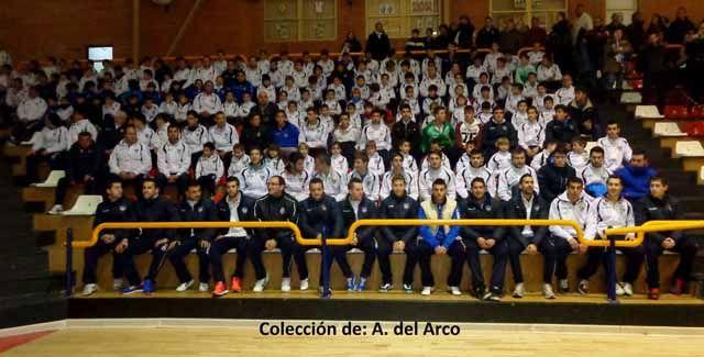 PRESENTACIÓN DE LOS EQUIPOS DEL LINARES CF. 2011