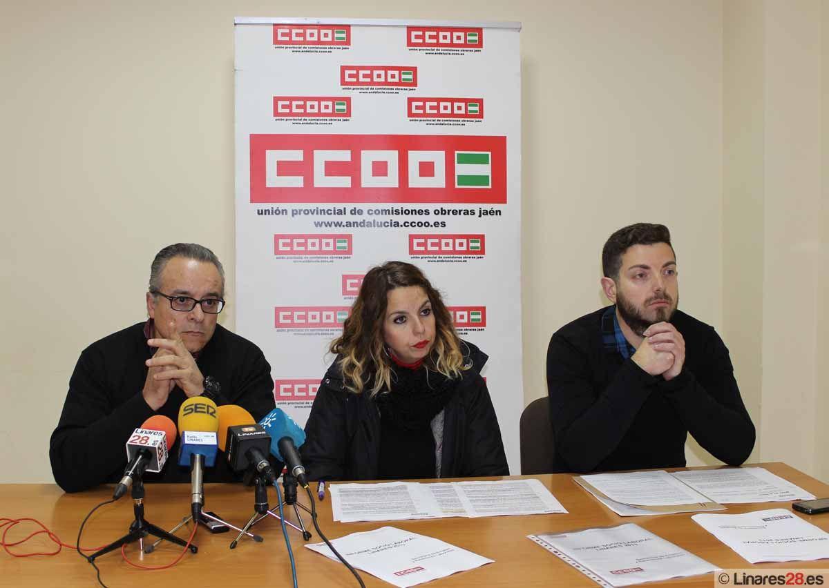 CC.OO. pone sobre la mesa las cifras que muestran la situación sociolaboral de Linares