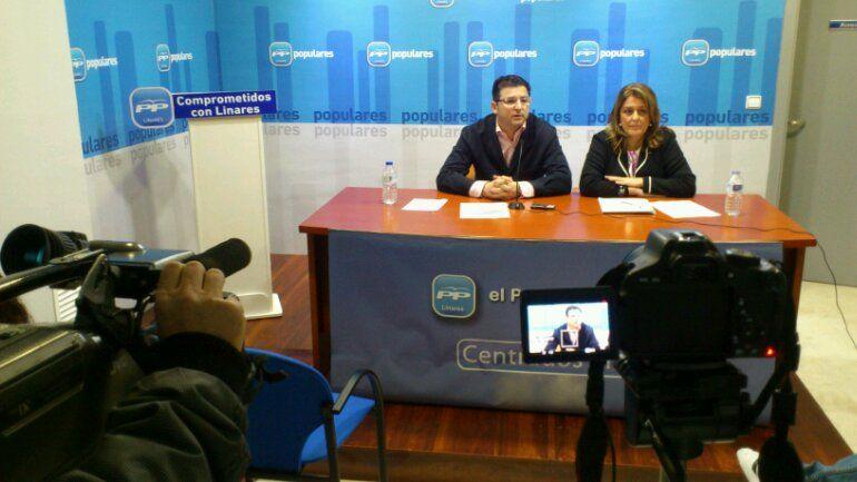 En estos momentos rueda de prensa del PP sobre instalaciones deportivas