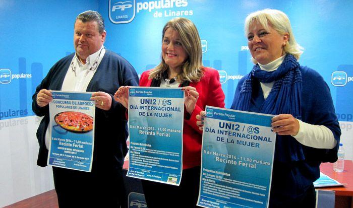 El Partido Popular de Linares presenta su programa de actividades con motivo del Día Internacional de la Mujer