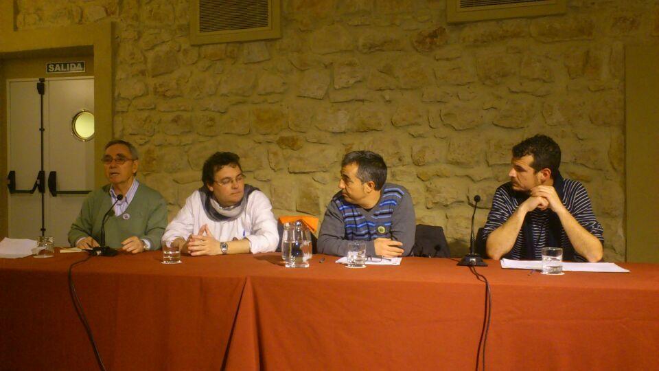 En estos momentos presentación marchas 22M en Linares