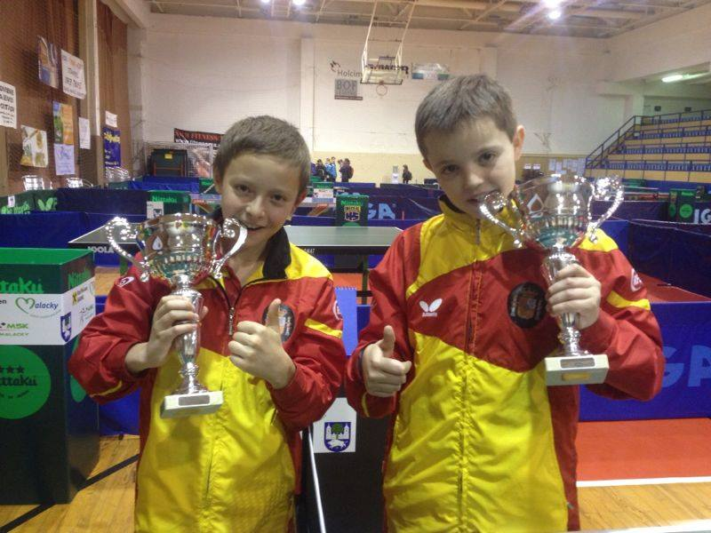 Oro y bronce en Malacky en el Open Mini y Mini-Cadet de Eslovaquia