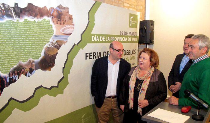 Pilar Parra presenta la I Feria de los Pueblos como una oportunidad para poner en valor las virtudes de la provincia