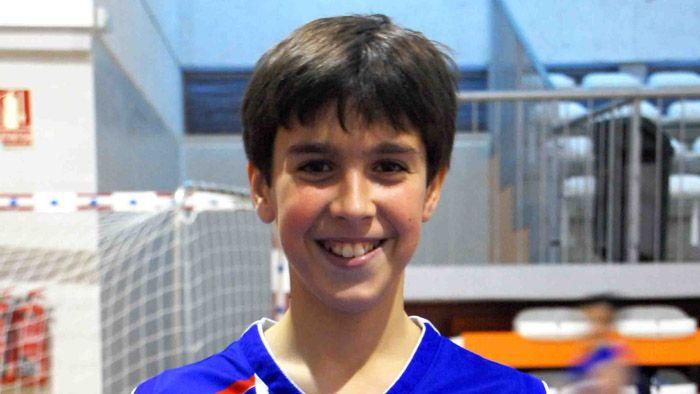 Pablo Sánchez a la selección andaluza de minibasket