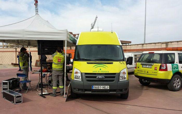 Ejercicio práctico de accidente de mercancías peligrosas en Linares