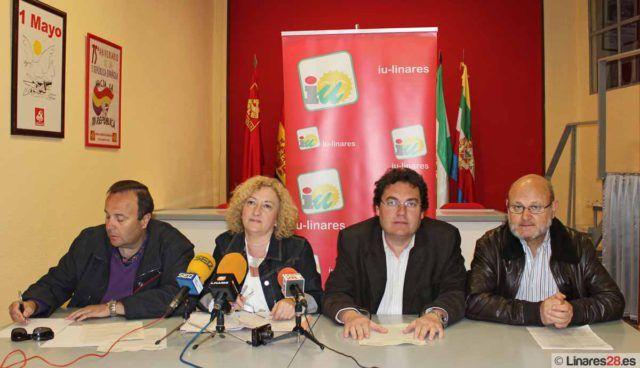 Momento de la presentación de la PNL en Linares