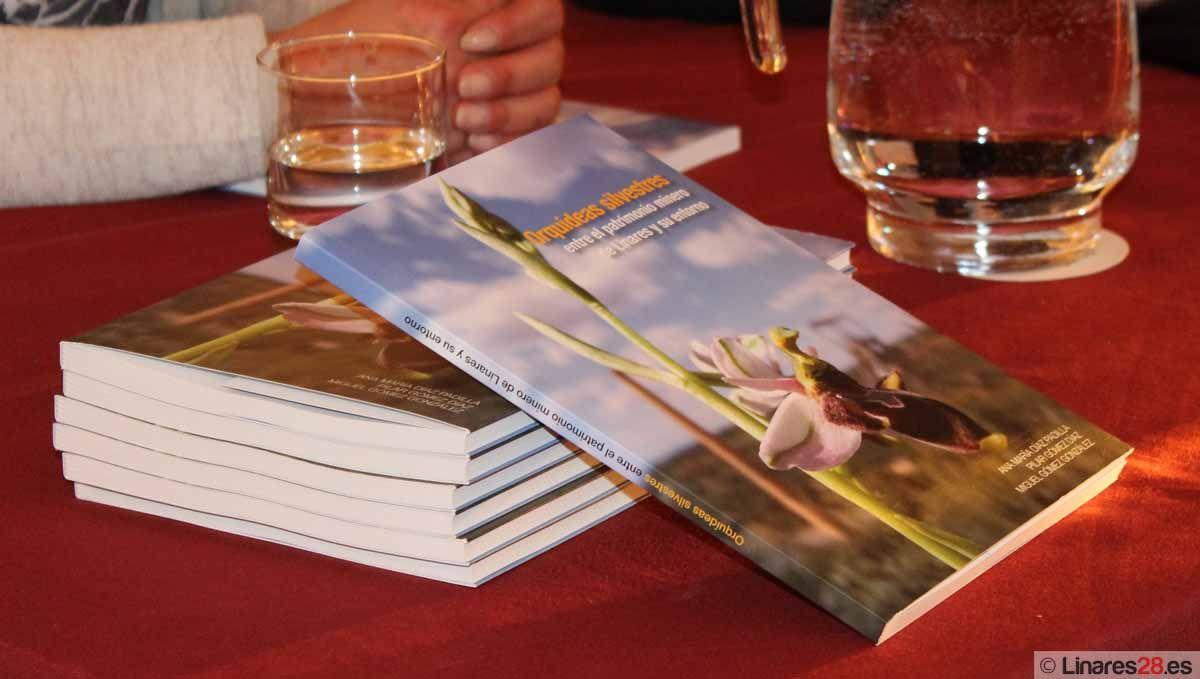 Presentan un libro sobre orquídeas silvestres entre el patrimonio minero de Linares