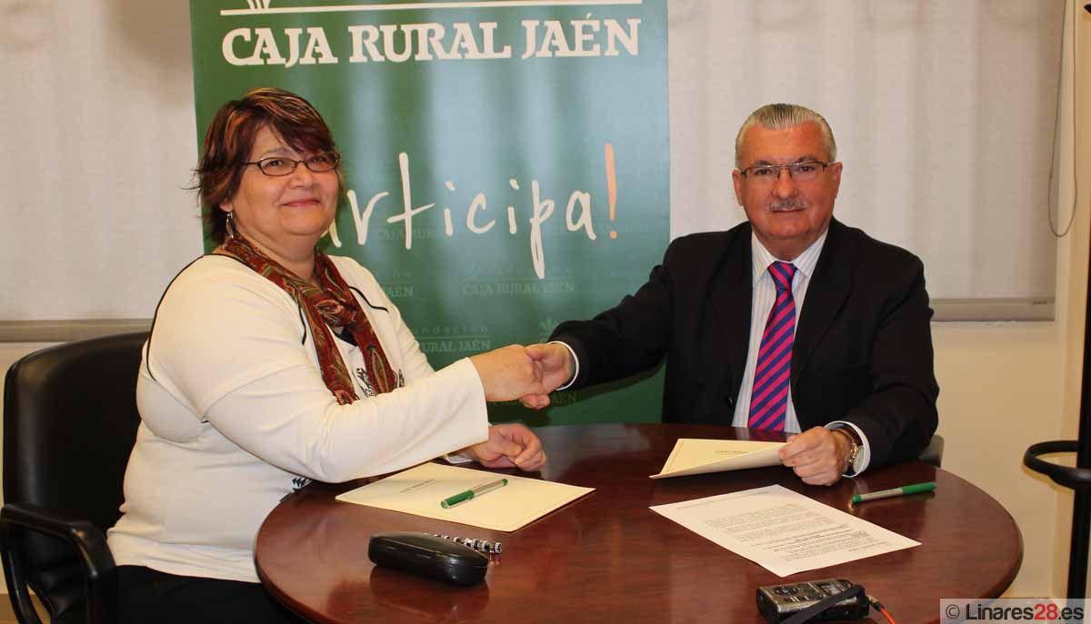 Fundación Caja Rural de Jaén firma un convenio con la Asociación Manantial
