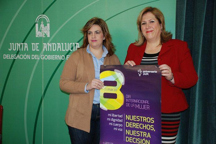 La Junta celebra en la provincia el Día Internacional de las Mujeres bajo el lema 'Nuestros derechos, nuestra decisión'